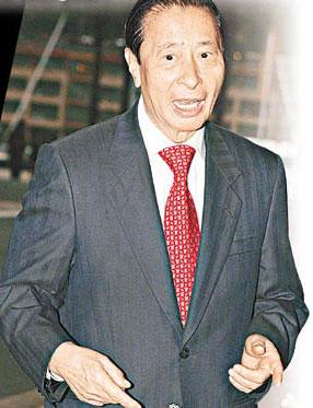 徐子淇父亲给女婿满分 李兆基笑谈4亿礼金(图)