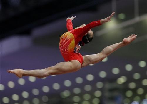 组图:多哈亚运十大美感图片 纪录中国精彩瞬间