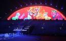 图文:揭秘亚运闭幕式广州10分钟 南粤狮舞
