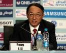 图文:中国体育代表团召开新闻发布会 刘鹏讲话