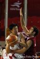 组图:大郅疯狂屠戮 中国男篮夺回亚运冠军