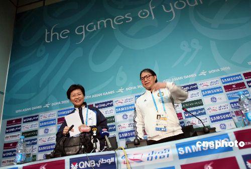 图文:6金12银10铜 香港代表团公布亚运成绩