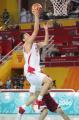 图文:亚运会中国男篮VS卡塔尔 轻松上篮