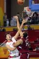 图文:亚运会中国男篮VS卡塔尔 单打独自斗