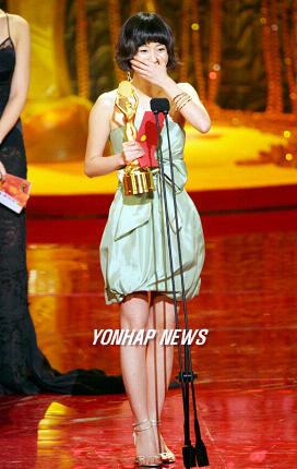 现场:郑柔美《家族的诞生》获得最佳女配角