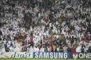 图文:卡塔尔男足夺得亚运冠军 卡塔尔进球瞬间