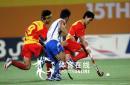 图文:中国男曲1-3韩国 中国队边路反击