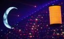 图文:多哈亚运会闭幕式表演 月亮与灯笼