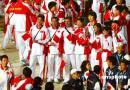 图文:多哈亚运会闭幕式精彩纷呈 中国代表团