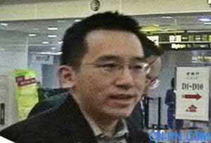 陈水扁儿子陈致中突然去美国 蓝绿一致谴责(图)