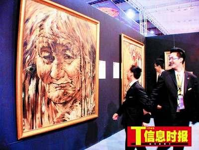 深圳奢侈品展昨破例让40市民提前大开眼界