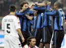 图文:国际米兰VS梅西纳 国米众将欣喜若狂0