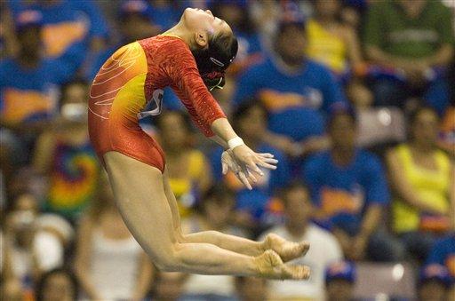 体操世界杯总决赛 李娅摘金李小鹏夺冠追平纪录
