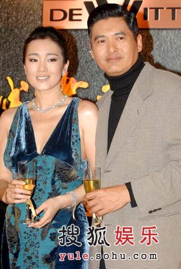 《黄金甲》香港首映 性感巩俐大秀高贵气质(图)