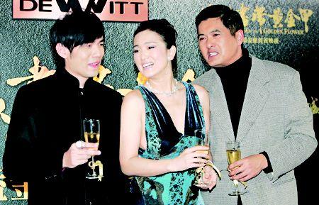 《满城尽带黄金甲》香港首映 巩俐调侃周润发