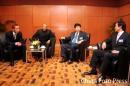 图文:亚洲杯抽签中国C组战伊朗 张吉龙出席