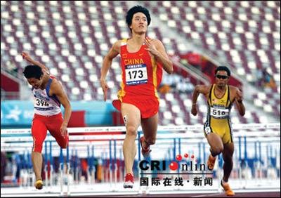 全亚洲都在学刘翔 多国运动员视其为偶像(图)
