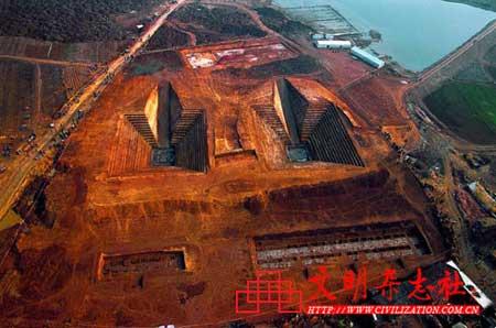 折射中国悠久文明历史的彩练