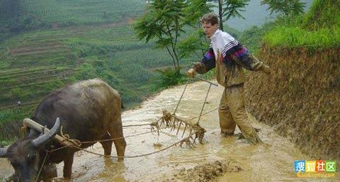 一位德国青年在中国乡村施教的经历