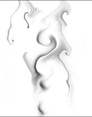 《Photoshop CS质感传奇》:虚无飘渺 轻烟质感