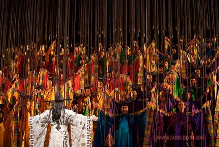 歌剧《秦始皇》正在热播大都会音频直击(图)