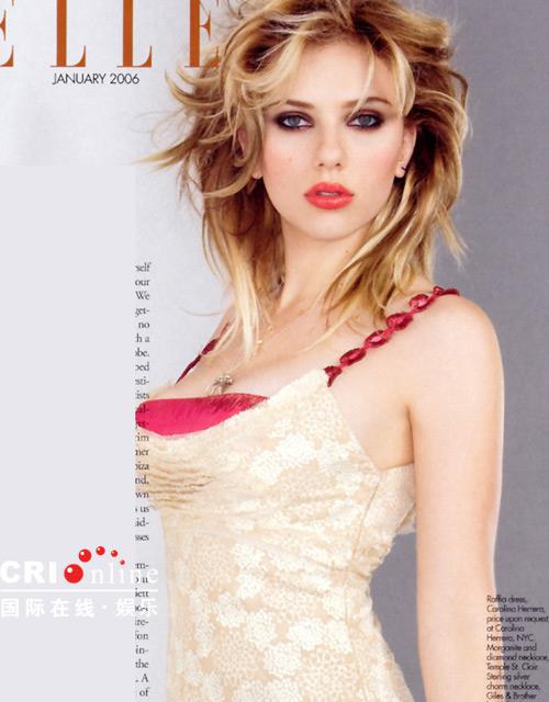 《君子》杂志本月刚刚投票选出的在世第一性感美女