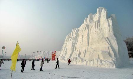 哈尔滨太阳岛国际雪雕艺术博览会开幕