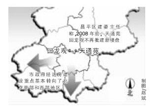 北京天通苑回龙观08年前不再批建大型社区(图)