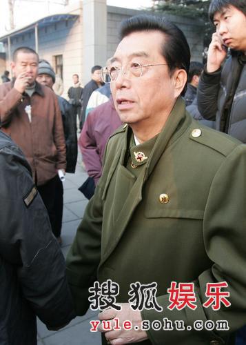 图:李双江参加马季老师追悼会