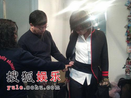 搜狐娱乐专访周笔畅 演唱会造型独家曝光(图)