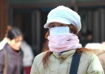 元旦前冷空气袭中国北方 华北等地最高降温14℃