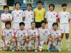 中国之队,中国女足国青队
