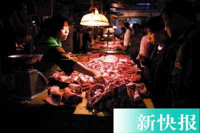 广州猪肉价格飙至七年最高 1月内攀升近三成