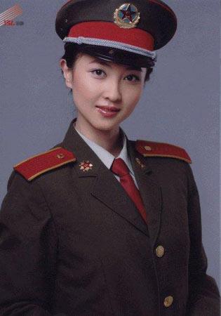 媒体评出解放军中最漂亮的五位女军官(组图)