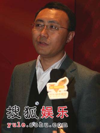 图:王长田接受搜狐娱乐独家专访