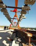 地铁奥运支线工程土建主体完工