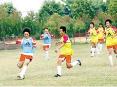 中国之队,女足国少队