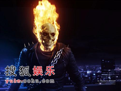 尼古拉斯凯奇新片《恶灵骑士》剧照曝光(组图)