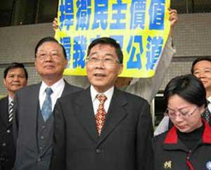黄俊英今向法院提起陈菊当选高雄市长无效之诉
