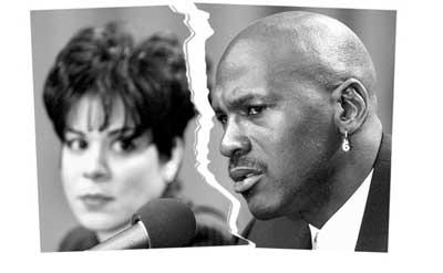 迈克尔-乔丹与发妻离婚 四亿美元财产面临平分