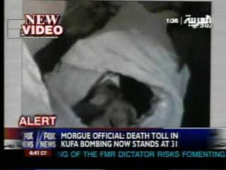 伊拉克媒体播出萨达姆尸体画面
