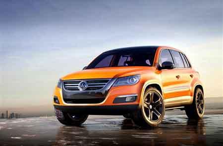 大众Tiguan概念车:宝马X3强有力竞争者!
