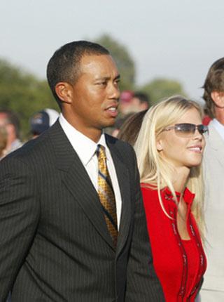 伍兹透露妻子怀孕 世界高尔夫第一人明年生孩子