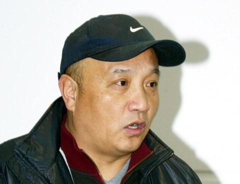 图文:于涛出任中能俱乐部总经理 殷铁生出席