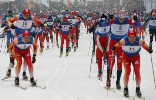 凈月潭瓦薩國際滑雪節