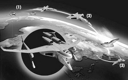 美国计划打造超级飞船 可两小时内飞遍全球(图)