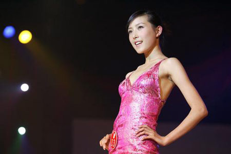 中华旅游小姐中国总决赛闭幕 李林忆夺冠(组图)