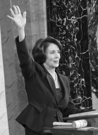 美国国会祖母级女性当家 佩洛西被称带刺玫瑰