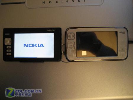 4吋800×480触摸屏 诺基亚N800多图曝光
