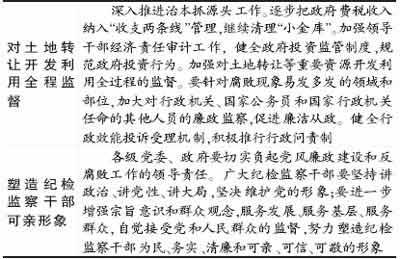 西安市纪委提出反腐任务 严查官商勾结私分国资